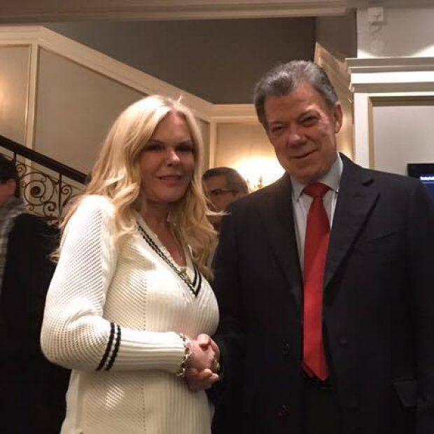 Nobels Fredsprisvinner President Santos